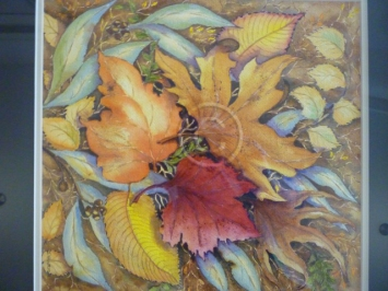 "Autumn Beauty. Watercolour. ""Unsold""."