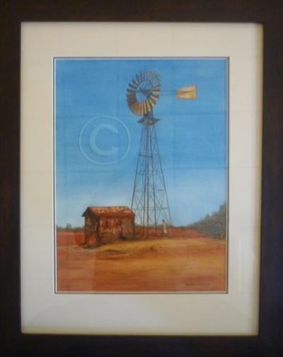 Marla Bore watercolour 480 mm x 600 mm