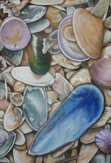 Beachside acrylic stretch canvas 60 x 90 cm collection