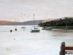 Days End 400 X 300 mm Oil sold