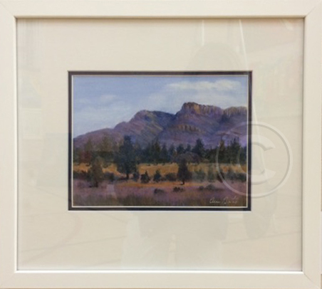 Flinders Colour 1 oil 40 x 32 cm