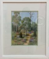Garden Watercolour 40 x 32 cm