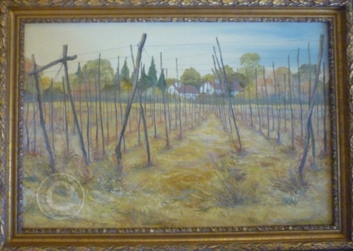 Hopfields, Kent oil 890 mm x 650 mm collection