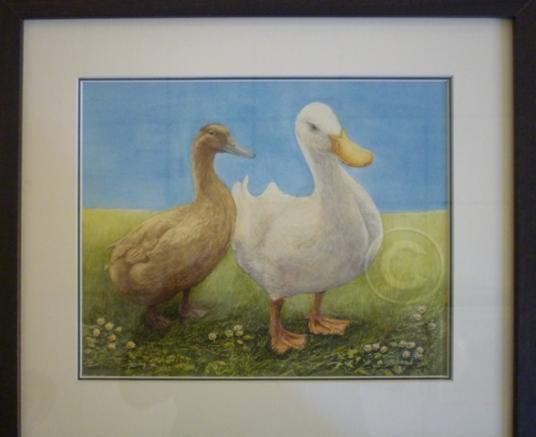 Meet Daisy watercolour 420 mm x 370 mm