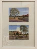 Outback Colour oil 35 x 50 cm