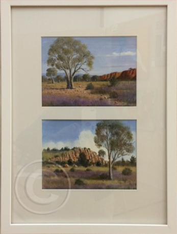 Outback Colour oil 35 x 50 cm