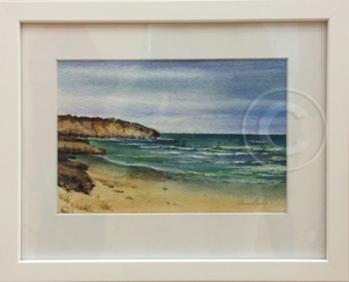 SA Seascape 1 Watercolour 40 x 32 cm