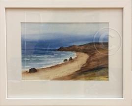 SA Seascape 2 Watercolour 40 x 32 cm