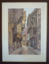 The Shambles Watercolour 440 mm x 570 mm collection