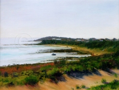 Yorke Peninsula Hideaway 400 X 300 mm Oil Sold